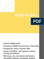 Msdm Global Ppt