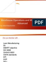 Warehouse Operations and Management