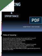 Housing Intro