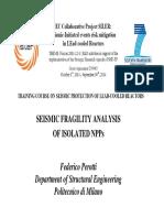 Seismic Fragility - Perotti