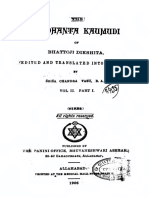 SiddhantaKaumudiEngTranslationScVasuVolume2Part1 1906 Text