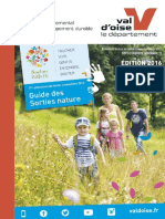 Brochure Sorties Nature 2016