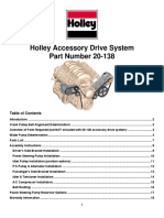 Holley Accessory Drive System