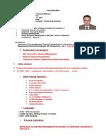 CV. Dr. Basil Mansour
