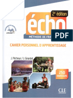 Echo b1 1 Cahier Veuil