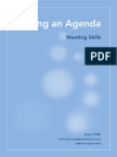 PMO Setting Agenda