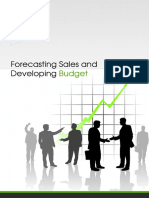 Forecasting Sales Developing Budget