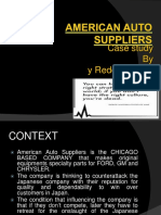 American Auto Suppliers case study