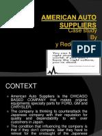 American Auto Suppliers case study