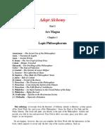 Robert a Nelson - Adept Alchemy