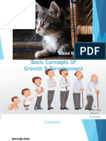 Basic Concepts of Growth and Development