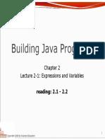 Expresiones en Java