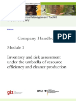 CM Toolkit Module 1 Inventory Risk Assessment 2014-10-2