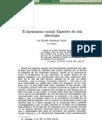 Felipe Gonzalez Vicen. El Darwinismo Social