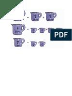 Dibujos de Unidades de Medida