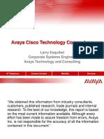 Avaya Cisco Comparison
