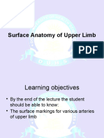 Surface Anatomy of Upper Limb