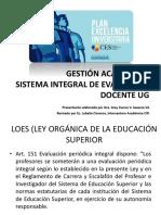 Difusion Sistema Evaluacion Docente - ESTabc