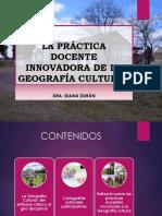 Geografía Cultural Primer Encuentro