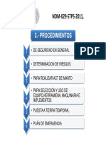 Procedimientos Nom 29 Stps 2011
