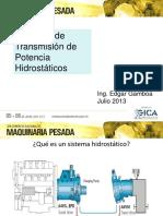 09. Sistemas de Transmisión de Potencia Hidrostáticos - Ing. Edgar Gamboa Qusipe.pdf