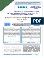 La planificación basada en competencias en los másteres oficiales. Un reto para el profesorado universitario..pdf