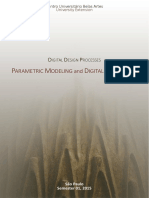 Parametric Modeling and Digital Fabrication