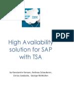 High Availability Solution for SAP With TSA (1)