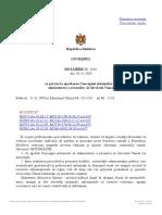 + HG cu privire la aprobarea Concepţiei sistemului de  administrare a riscurilor  în Serviciul Vamal