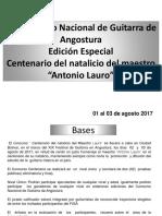 VII Concurso Centenario 2017