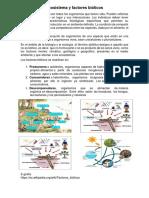 Ecosistema y Factores Bióticos