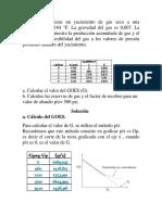 161226721 Ejercicio Ecuacion de Balance de Materiales Para Yacimientos Docx
