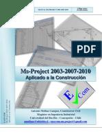 Manual Microsoft Project Aplicado a La Construccion
