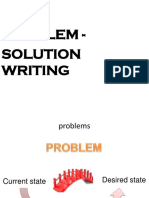 Problem Solution Essays