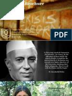 JNU Eco CESP Placement Brochure 2016-18