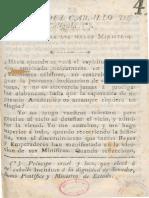 1819 Elogio del caballo de Calígula Medellín