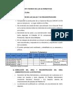 Planteamiento Técnico de Las Alternativas INFO