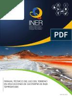 Manual Geotermia Baja Entalpia