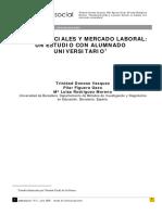 Modelos Sociales y Mercado Laboral. Un Estudio Con Alumnado Universitario.