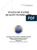 Status of Water Quality in India