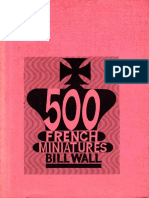 500 French Miniatures by Bill Wall Xxxxx