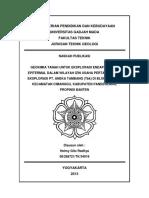 GEOKIMIA TANAH UNTUK EKSPLORASI ENDAPAN EMAS.pdf