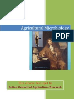 AGRICULTURAL-MICROBIOLOGY pdf | Microorganism | Sterilization