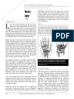 Van Pelt_Hand and Wrist Prolotherapy_2010