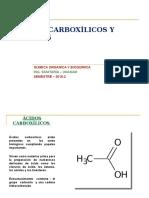 4acidos Carboxilicos y Esteres 2016-2