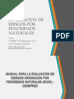 EVALUACION DE RIESGOS POR FENOMENOS NATURALES.ppt