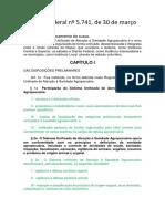 Decreto Federal Nº 5.741, De 30 de Março de 2006