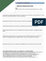 Casos- derechos laborales en el Perù.