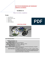 Rules for Robotics Competition