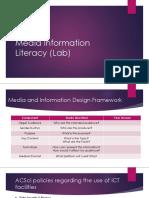 Media Information Literacy (Lab)